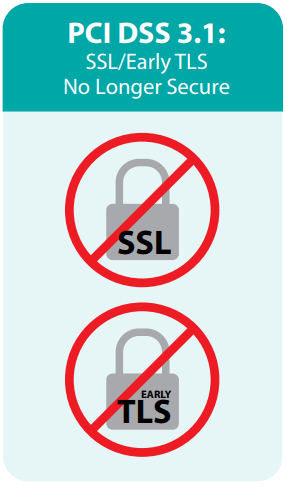 SSL no longer secure