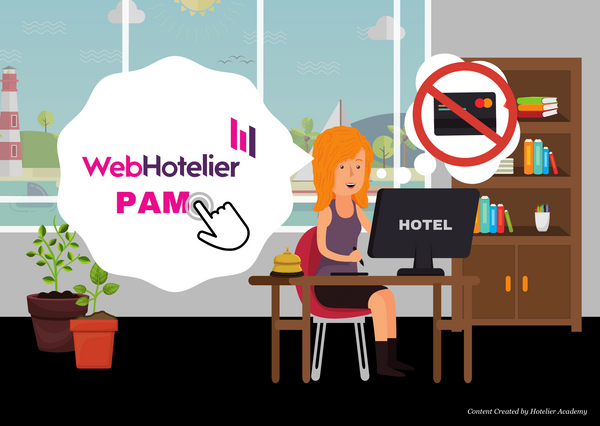PAM: One-click online payment management by WebHotelier