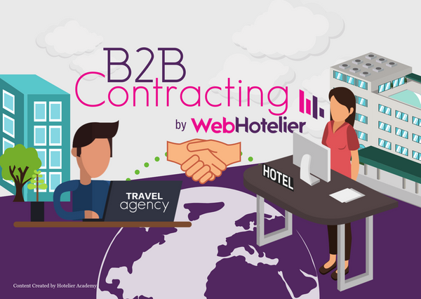 B2B Contracting by WebHotelier: Develop new contracts & partnerships with Travel Agents, through your hotel's booking engine!